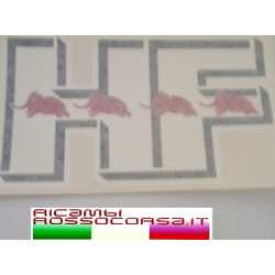 HF white sticker cm. 21x12,5